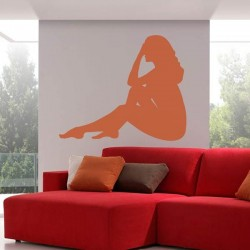 Silhouette femme sexy