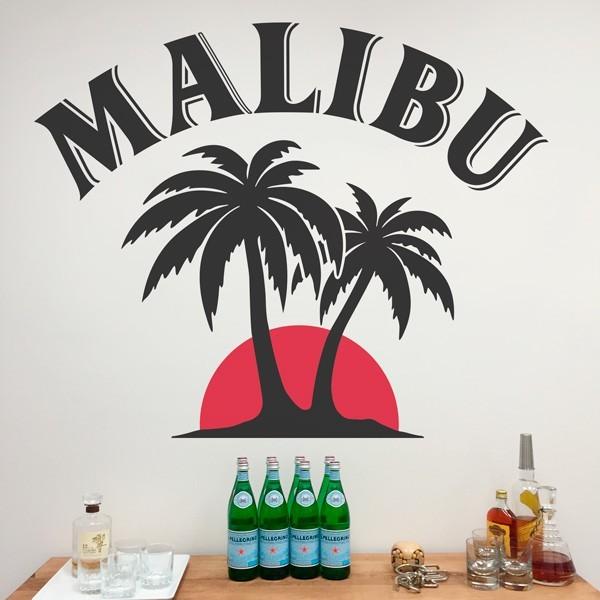 Sticker mural malibu