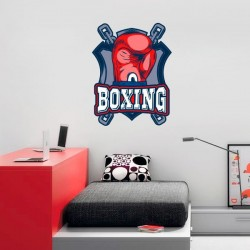 Adhésif mural boxing