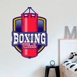 Autocollant boxing club