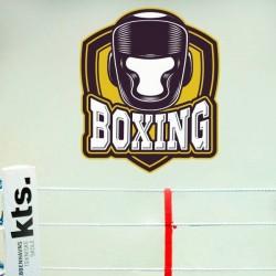 Sticker déco boxing