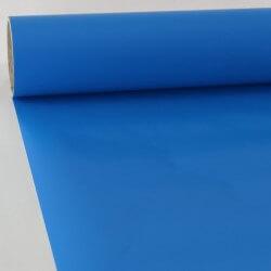 Sticker au mètre mat bleu