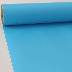 Sticker au mètre mat bleu...