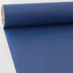Adhésif au mètre mat bleu nuit