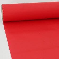 Adhésif au mètre mat rouge