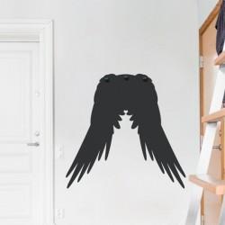 Porte manteau ailes d'ange
