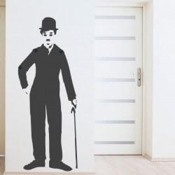 Porte manteau Charlie Chaplin