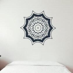Mandala motif floral