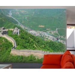Poster Mural Panoramique Muraille Chine
