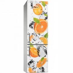 Sticker cuisine oranges