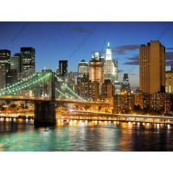 Déco murale lumières de New York