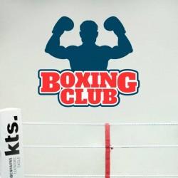 Sticker boxing club