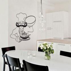 Sticker cuisine Le Chef