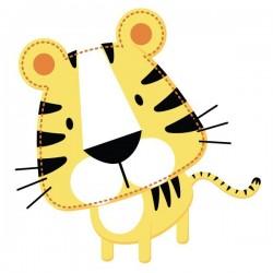 Sticker bébé tigre