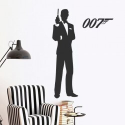Sticker James Bond 007