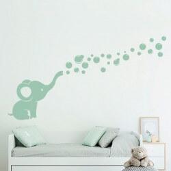 Sticker enfant bébé éléphant